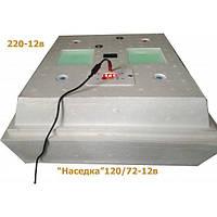 Инкубатор «Наседка» 120/72-12В, 72 кур.яиц