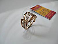 Золотое кольцо с фианитами 16.5 размер от 899грн. за 1г. ЗОЛОТО 585 пробы