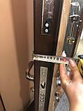 Входные двери металлические квартирные Магда 121/ 2 венге серый горизонт, фото 7