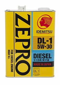 Масло моторное IDEMITSU ZEPRO DIESEL DL1 5W-30 4L