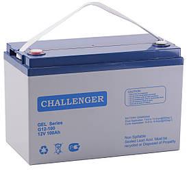 Гелевий акумулятор Challenger G12-100