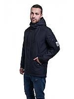 Демисезонная черная мужская куртка  (46-54рр)