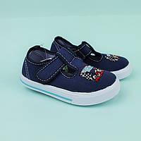 Кеды мокасины на мальчика детская текстильная обувь тм Том.м размер 20,21,22,23,24