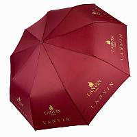"""Складной женский зонт полуавтомат с системой """"антиветер"""", """"Бренды"""" от MAX, бордовый, 515-5, фото 1"""