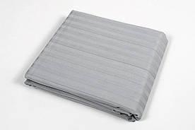 Пододеяльник Lotus Отель - Сатин Страйп 1*1 серый Турция 200*220