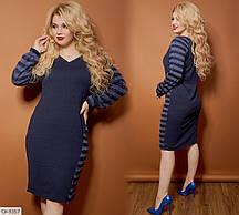 Женское стильное платье ангора с люрексом  AL3161