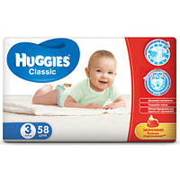 Підгузники Huggies Classic Jumbo р. 3 (4-9 кг) 58 шт