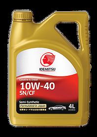 Масло моторное IDEMITSU 10W-40 SN/CF Gasoline/Diesel 4L