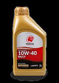 Масло моторное IDEMITSU 10W-40 SN/CF Gasoline/Diesel 1L