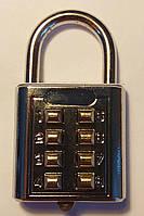 Кодовый навесной замок Кнопка 8