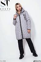 Осеннё-весенняя куртка на синтепоне р-ры 48-62 арт.1126
