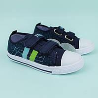 Кеды мокасины на мальчика текстильная обувь Том.м размер 25,26,27,28,30