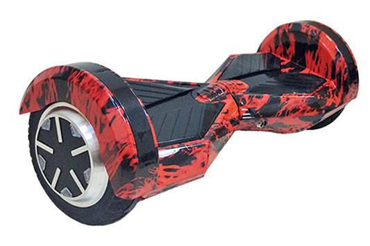 """Гироскутер Smart Balance Transformers 8"""" колеса красный огонь, фото 2"""
