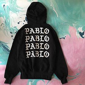 Худи чёрный I Feel Like Pablo • толстовка пабло