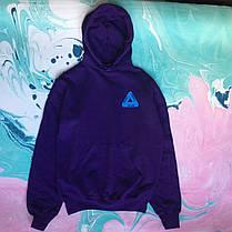Худи фиолетовый Palace • толстовка пелес, фото 2