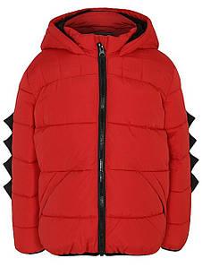 Куртка детская красная Динозавр George (Англия)  р.80/86, 86/92см.