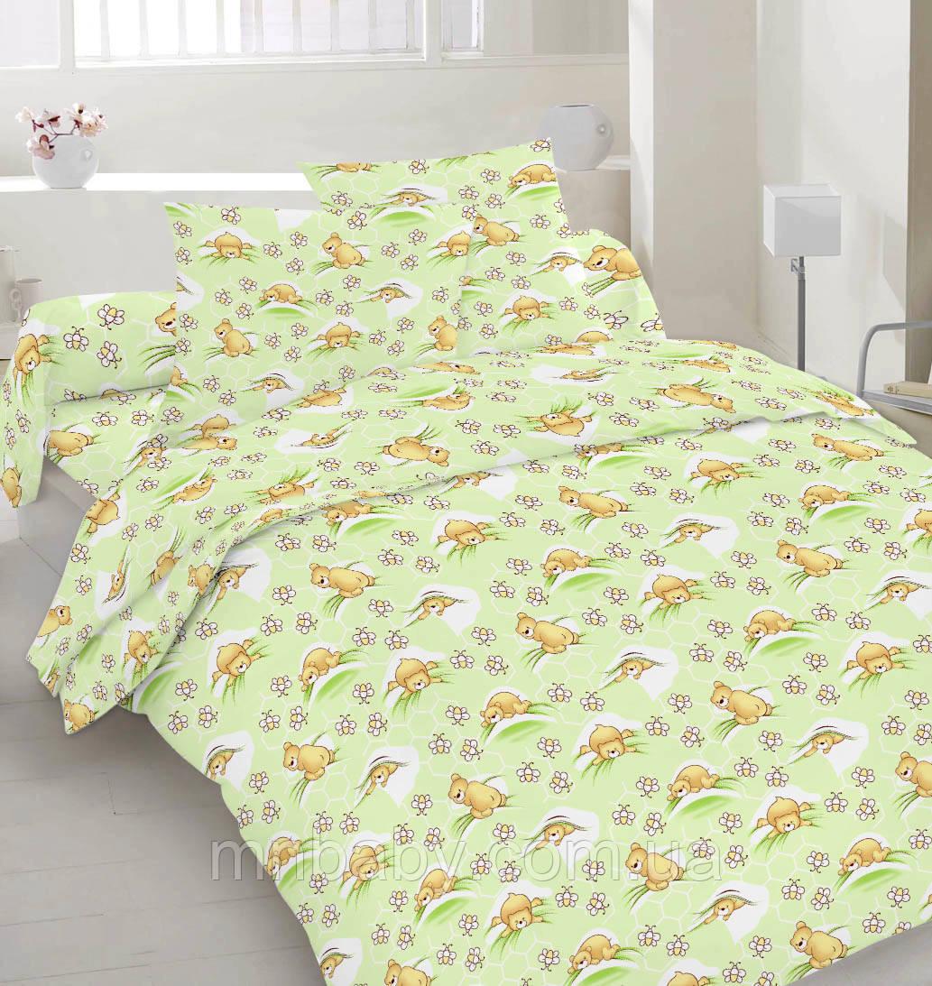 Комплект постельного белья Мишутки