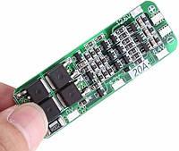 Модуль BMS 3S 20A 12V Плата Контроллер Заряда Разряда 18650