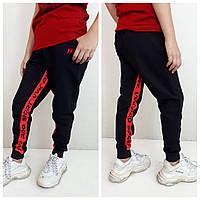 Сучасні спортивні штани від VVK_PRO_SPORT Чорний/червоний від 134 до 164 росту 90% бавовна