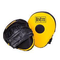 Лапи тренерські гнуті BENLEE JERSEY JOE (yellow-blk)