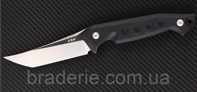 Нож нескладной SRM S-761 фултанг с тантоидным клинок