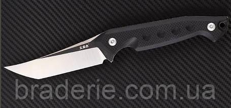 Нож нескладной SRM S-761 фултанг с тантоидным клинок, фото 2