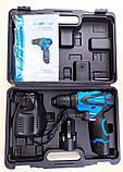 Шуруповерт аккумуляторный KRAISSMANN 1500 ABS 12-2 Li. Шуруповерт Крайсман 2 аккумулятора, фото 5