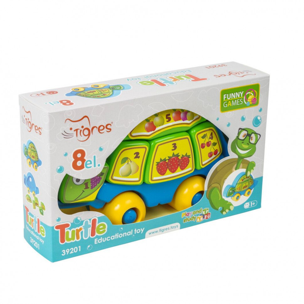 "Игрушка развивающая ""Черепаха-розумаха"" 39201"