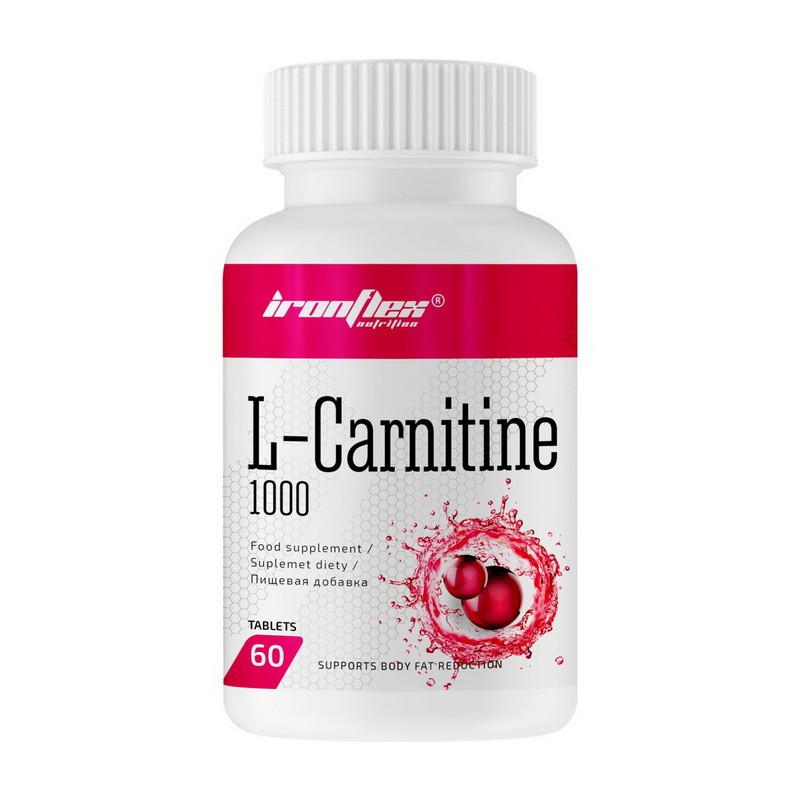 Карнитин IronFlex L-Carnitine 1000 60 tabs