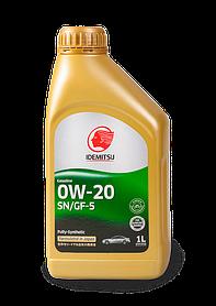 Масло моторное IDEMITSU 0W-20 SN/GF 5 1L