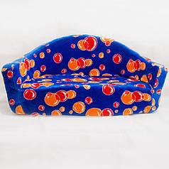 Детский диван Золушка 48 х 99 х 41 см Синий (281)