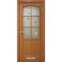 "Межкомнатные двери Classic Классика ""Омис"" ПВХ со стеклом 60, 70, 80, 90 см"