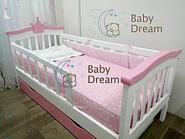 Дитяче ліжко від 3 років Selfie Baby Dream для дівчинки