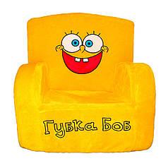 Детское кресло Weber Toys губка боб 55 х 50 х 39 см Желтый (503)