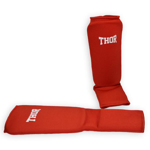 Защита для голени и ног THOR Shin-instep Red