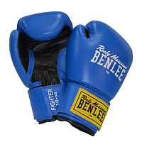 Боксерские перчатки BENLEE FIGHTER (blue-blk), фото 1