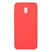 Чехол Soft Touch для Xiaomi Redmi 8A силикон бампер красный