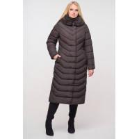 Женское зимнее длинное пальто Тереза  р - ры 48 - 64 Новая коллекция  зима 2019-2020 NUI VERY