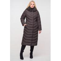 Женское зимнее длинное пальто Тереза  размеры 48 - 64 Новая коллекция  зима NUI VERY