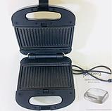 Тостер универсальный Rainberg RB-642 (3 в 1) бутербродница, вафельница, фото 3
