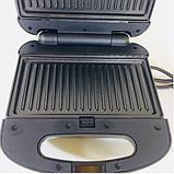 Тостер универсальный Rainberg RB-642 (3 в 1) бутербродница, вафельница, фото 5