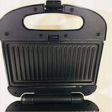 Тостер универсальный Rainberg RB-642 (3 в 1) бутербродница, вафельница, фото 6