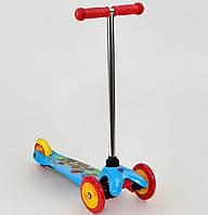 """Самокат """"Щенячий Патруль"""" для дітей 3-5 років колеса PVC, переднє колесо d=12см, заднє d=9см"""