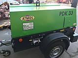 Компрессор дизельный передвижной ATMOS PDP PDK, фото 5