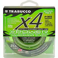 Шнур Trabucco X4 Power 150м 0,285мм 18,14кг салатово-желтый (054-31-300)