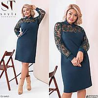 Нарядное женское платье большие размеры Г05147