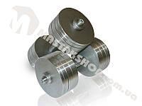 Гантели стальные наборные 2х30 кг (60 кг пара), фото 1
