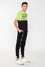 Детская футболка для мальчика Young Reporter Польша 201-0440B-12-520-1 Зеленый весенняя осенняя демисезонная