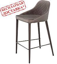 Полубарный стул Elizabeth серый (бесплатная доставка)