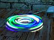 Гибкий светящийся неоновый шнур LED Neon Flex Strip Cold Color 5m цветная неоновая лента для декора 12V, фото 4